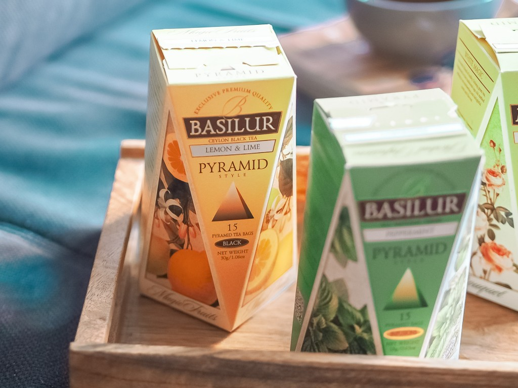 BASILUR Magic Lemon & Lime Pyramid